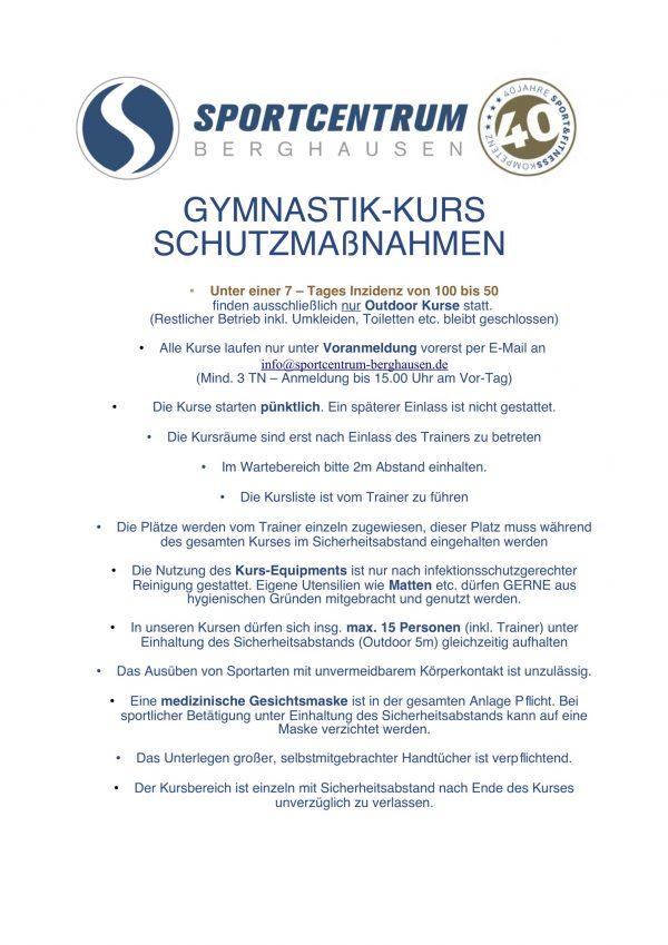 GymnastikMassnahmen Stand 28.06.2021
